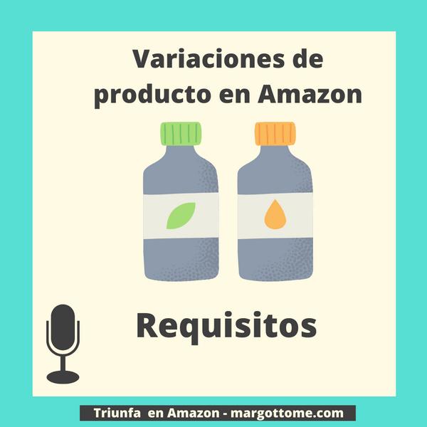 Variaciones de producto en Amazon