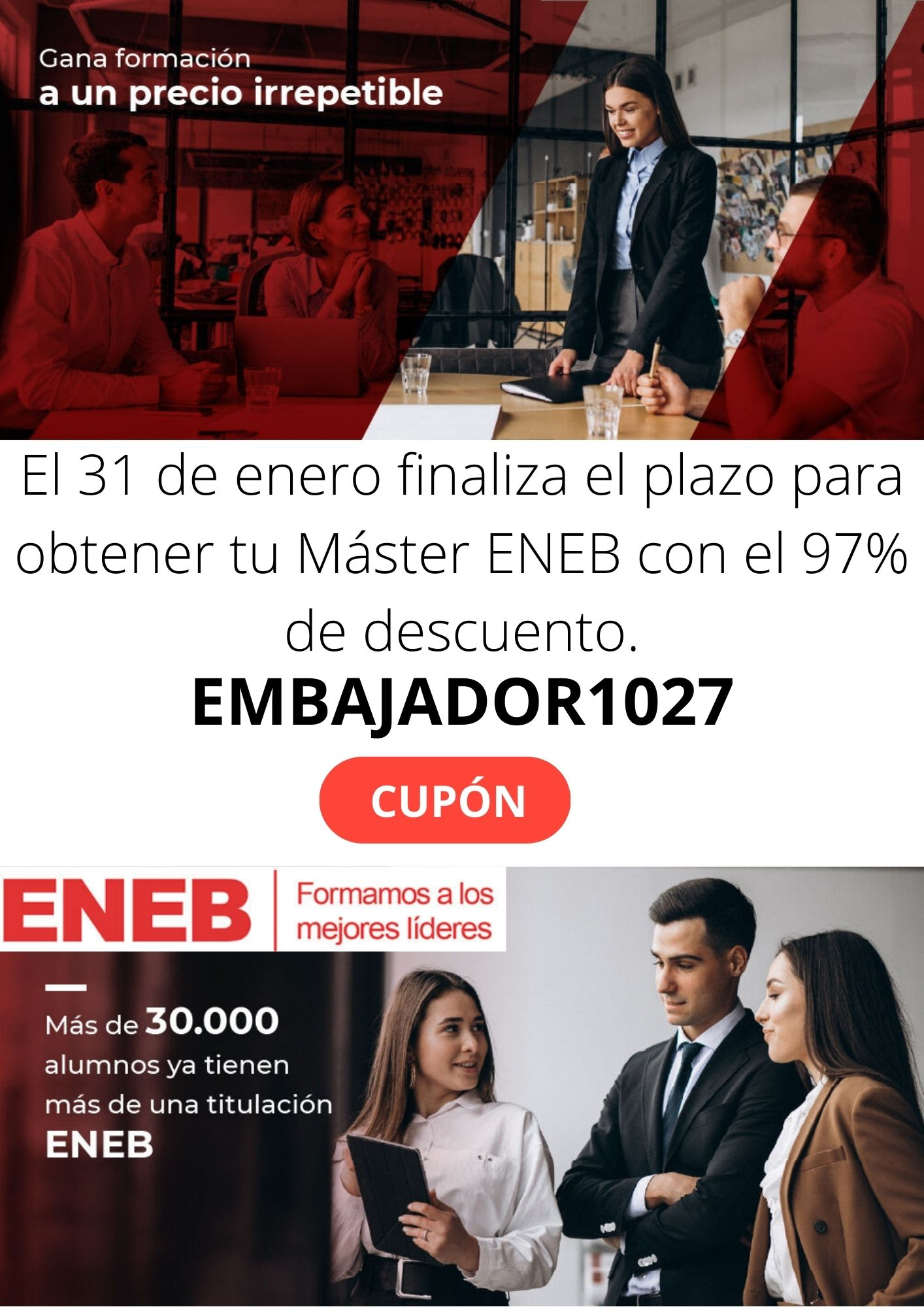 CUPÓN EMBAJADOR1027